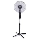 Вентилятор напольный SONNEN SFT-60W-40-02, d=40 см, 60 Вт, 3 скоростных режима, таймер, черный