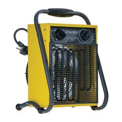 Тепловая пушка электрическая BALLU BHP-M-3, 1500-3000 Вт, режим вентиляции без нагрева, желтая