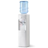 Кулер для воды AEL LC-AEL-350, напольный, нагрев/<wbr/>охлаждение, 2 крана, белый