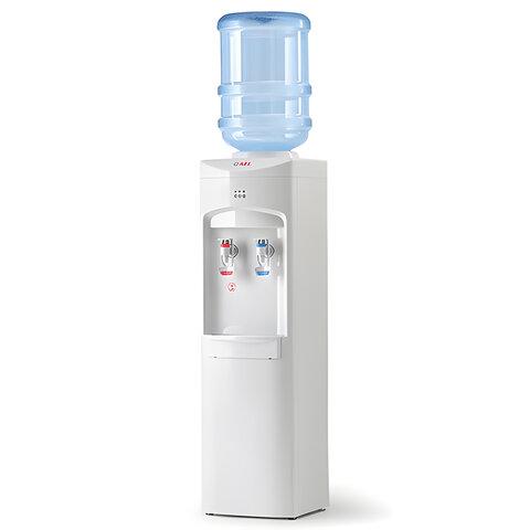 Кулер для воды AEL LC-AEL-350, напольный, нагрев/охлаждение, 2 крана, белый