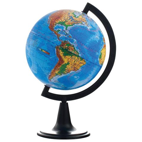 Глобус физический, диаметр 150 мм (Россия)