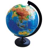 Глобус физический, диаметр 320 мм, рельефный (Россия)