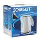 Чайник SCARLETT SC-EK18P22, закрытый нагревательный элемент, объем 1,7 л, мощность 2200 Вт, пластик, белый