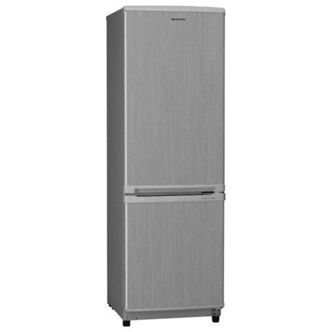 Холодильник SHIVAKI SHRF-152DS, общий объем 138 л, нижняя морозильная камера 32 л, 45×54×141 см, серый