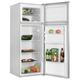 Холодильник SHIVAKI SHRF-230DW, общий объем 207 л, верхняя морозильная камера 41 л, 55×55×143 см, белый