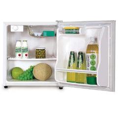Холодильник DAEWOO FR-051A / FR-051AR, общий объем 59 л, без морозильной камеры, 44×45×51см, белый