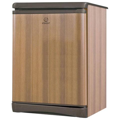 Холодильник INDESIT TT 85.005, общий объем 122 л, морозильная камера 14 л, 60×62×85 см, цвет дерево