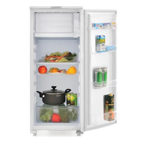 Холодильник САРАТОВ 451 КШ-165/15, общий объем 165 л, морозильная камера 15 л, 114,5x48x59 см, белый