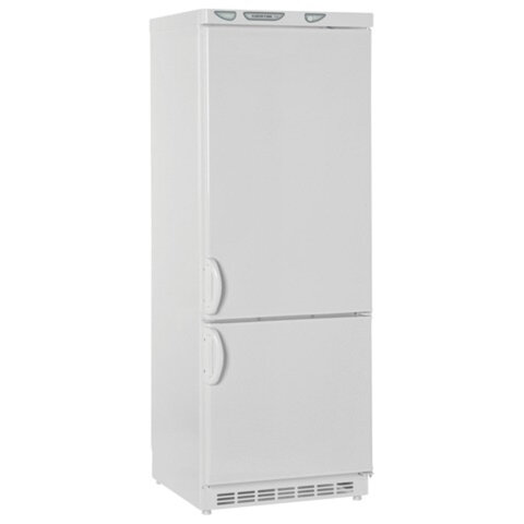 Холодильник САРАТОВ 209 КШД-275/<wbr/>65, общий объем 275 л, нижняя морозильная камера 65 л, 60×60×163 см, белый