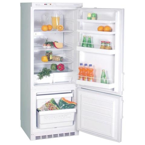 Холодильник САРАТОВ 209 КШД-275/65, общий объем 275 л, нижняя морозильная камера 65 л, 60x60x163 см, белый