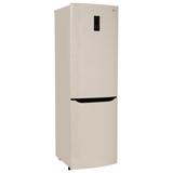 Холодильник LG GA-B409SEQA, общий объем 312 л, нижняя морозильная камера 87 л, дисплей, 60×64×191 см, бежевый