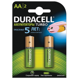 ������� �������������� DURACELL AA, ����������, �������� 2 ��., ������� 2400 ���, 1000 ������ �����������, 1,2 �, �������