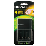 Зарядное устройство DURACELL для 4-х NiMH аккумуляторов размеров АА или AAA, время зарядки 4 часа