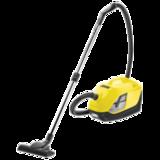 Пылесос KARCHER (КЕРХЕР) DS 5.800, с аквафильтром, потребляемая мощность 900 Вт, желтый, 1.195-210.0