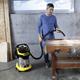 Пылесос KARCHER MV/<wbr/>WD 6 P Premium, с пылесборником, 1300 Вт, розетка, выдув, контейнер из нержавеющей стали, 1.348-270.0