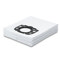 Мешки для сбора пыли KARCHER, комплект 4 шт., из нетканого материала, для пылесосов MV 4/<wbr/>5/6, 2.863-006.0