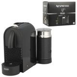 Кофемашина капсульная DELONGHI Nespresso EN 210.BAE, 1260 Вт, объем 0,7 л, черная + капсулы на 16 чашек