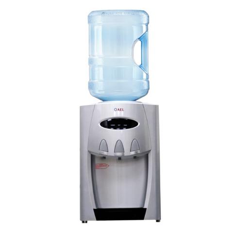 Кулер для воды AEL TD-AEL-228 silver, настольный, нагрев/охлаждение, 3 крана