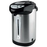 Чайник-термос SCARLETT SC-ET10D02, закрытый нагреватеоьный элемент, объем 4 л, мощность 750 Вт, сталь, черный