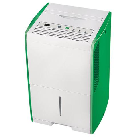 Осушитель воздуха BALLU BDH-15L, дисплей, мощность 210 Вт, бак 2 л, площадь помещения 18 м2, белый/<wbr/>зеленый