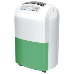 Осушитель воздуха BALLU BDH-30L, дисплей, мощность 530 Вт, бак 6,5 л, площадь помещения 30 м2, белый/<wbr/>зеленый