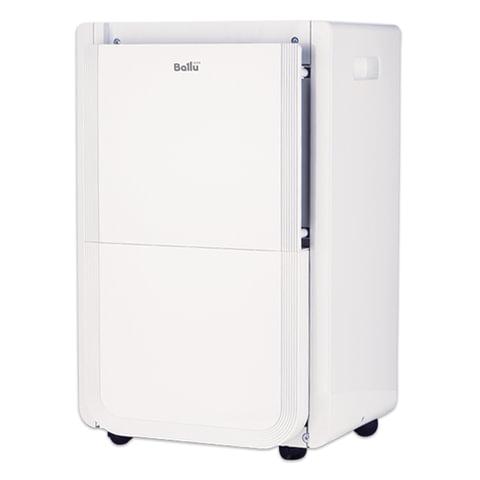 Осушитель воздуха BALLU BDH-40L, дисплей, мощность 500 Вт, бак 7,7 л, площадь помещения 45 м2, белый