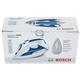 Утюг BOSCH TDA5028010, 2800 Вт, терморегулятор, алюминиевая поверхность, самоочистка, голубой