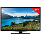 "Телевизор LED 28"" (71,1 см) SAMSUNG UE28J4100, 1366×768, HD Ready, 16:9,100 Гц, HDMI, USB, черный, 4 кг"