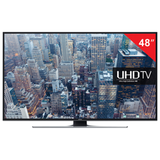 "��������� LED 48"" SAMSUNG UE48JU6400, 3840×2160, 4K UHD, 16:9, Smart TV, Wi-Fi, 200 ��, HDMI, USB, ������, 13 ��"