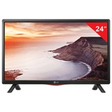 "Телевизор LED 24"" LG 24LF450U, 1366×768, HD Ready, 16:9, 50 Гц, HDMI, USB, черный, 3,4 кг"
