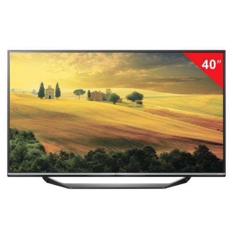 "Телевизор LED 40"" LG 40UF670V, 3840×2160, 4K UHD, 16:9, 100 Гц, HDMI, USB, черный, 10,4 кг"