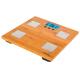 Весы напольные SCARLETT SC-BS33ED79, электроннные, максимальная нагрузка 180 кг, квадратные, бамбук