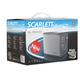 Тостер SCARLETT SL-TM11555, мощность 850 Вт, 2 тоста, механическое управление, металллический