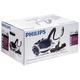 Пылесос PHILIPS FC9071, с пылесборником, потребляемая мощность 2000 Вт, мощность всасывания 450 Вт, голубой