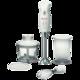 Блендер погружной BOSCH MSM6B700, мощность 350 Вт, 1 скорость, измельчитель 0,7 л, венчик, белый