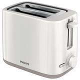Тостер PHILIPS HD2595/<wbr/>00, мощность 800 Вт, 2 тоста, механическое управление, разморозка, подогрев, пластик