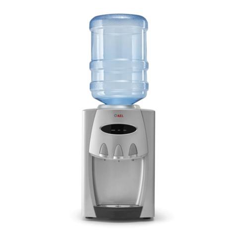 Кулер для воды AEL TC-AEL-228 silver, настольный, нагрев/<wbr/>охлаждение, 3 крана, серебристый