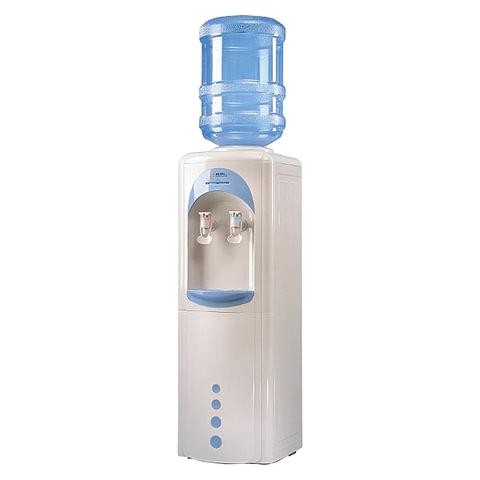 Кулер для воды AEL LK-AEL-17, напольный, нагрев/без охлаждения, белый/голубой