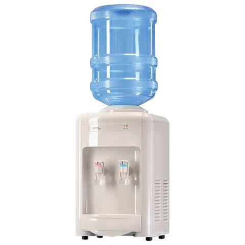 Кулер для воды AEL TC-AEL-16, настольный, нагрев/<wbr/>охлаждение, 2 крана, белый
