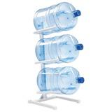 Стеллаж для хранения воды AEL, Россия, для 3 бутылей, металл, белый