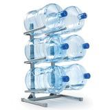 Стеллаж для хранения воды AEL, Россия, для 6 бутылей, металл, серый