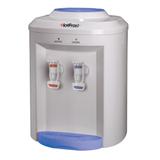 Кулер для воды HOT FROST D75E, настольный, нагрев/<wbr/>охлаждение, 2 крана, белый/<wbr/>голубой
