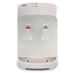 Кулер для воды HOT FROST D120F, настольный, нагрев/<wbr/>без охлаждения, 2 крана, белый