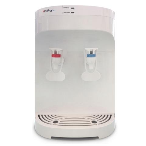 Кулер для воды HOT FROST D120F, настольный, нагрев/без охлаждения, 2 крана, белый