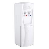 Кулер для воды HOT FROST V208B, напольный, нагрев/<wbr/>охлаждение, холодильный шкаф 17 л, 2 крана, белый