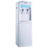 Кулер для воды HOT FROST V195B, напольный, нагрев/<wbr/>охлаждение, холодильный шкаф 20 л, 2 крана, белый/<wbr/>голубой