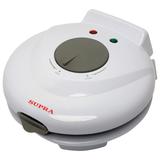 Электровафельница SUPRA WIS-100, мощность 750 Вт, конус для сворачивания рожков, пластик, белая