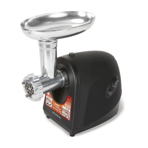 Мясорубка SUPRA MGS-1841Т, мощность 1800 Вт, производительность 1,7 кг/мин, реверс, насадки, низкий уровень шума, пластик