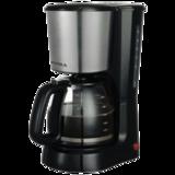 Кофеварка капельная SUPRA CMS-1501, мощность 800 Вт, объем 1,5 л, металл/<wbr/>пластик, черная