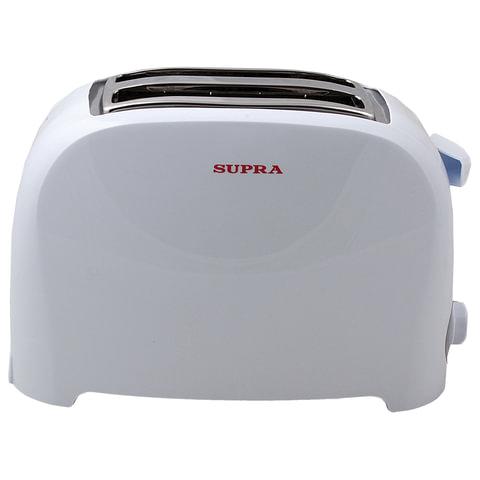 Тостер SUPRA TTS-115, мощность 900 Вт, механическое управление, разморозка, подогрев, пластик, белый